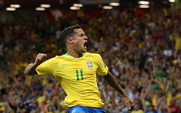 Golaço de Coutinho no primeiro tempo está fazendo o brasileiro