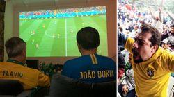 A torcida dos presidenciáveis pela Seleção Brasileira em dia de empate do