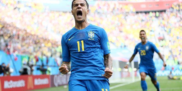 Philippe Coutinho salvou a Seleção contra a Suíça ao abrir o marcador contra a Costa