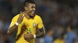 Paulinho faz 1 a 0 e Brasil vence a Sérvia ao fim do primeiro