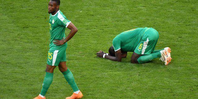 Defensores de Senegal se desesperam com queda para a Colômbia e eliminação na Copa da
