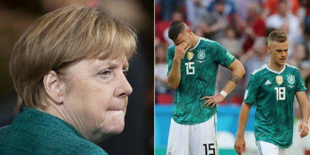 Alemães estão em sofrimento político e