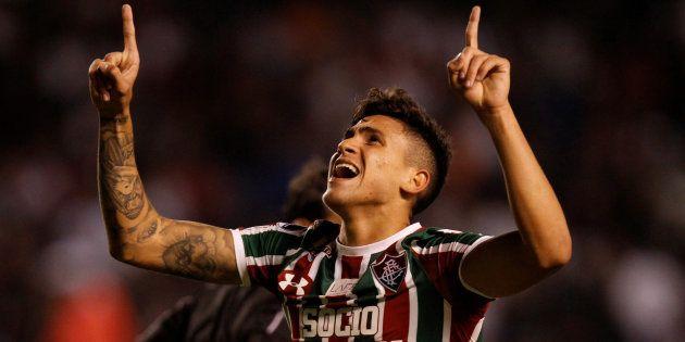 Pedro, do Fluminense, tem brilhado no Campeonato Brasileiro e já foi elogiado por