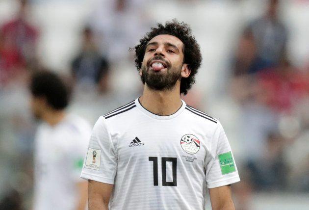 Desempenho de Salah na Copa do Mundo foi abaixo do