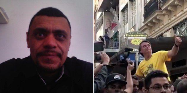 Adelio Bispo feriu Bolsonaro com