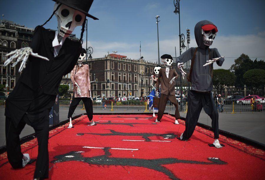 As imagens da celebração do Dia dos Mortos no