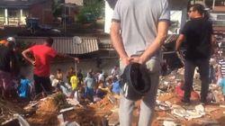 Deslizamento deixa 3 mortos e desaparecidos em