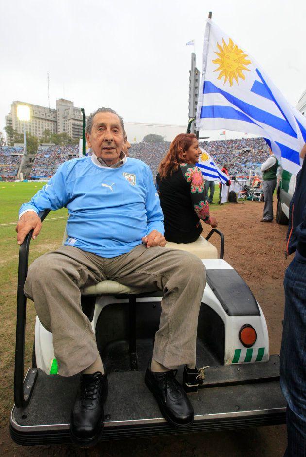Alcides Ghiggia, carrasco do Brasil na final da Copa de 1950, morreu em 2015, no aniversário do