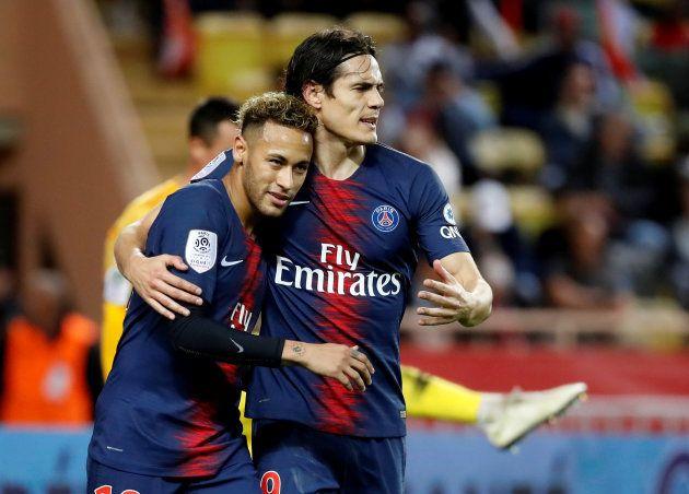 Neymar e Cavani: Companheiros no PSG, rivais nesta