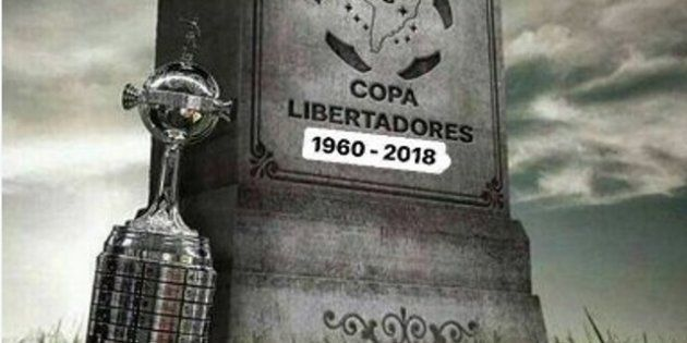 Internautas brincaram com a 'morte' da Libertadores, que será decidida no continente