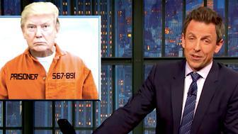 Seth Meyers takes down Trump.