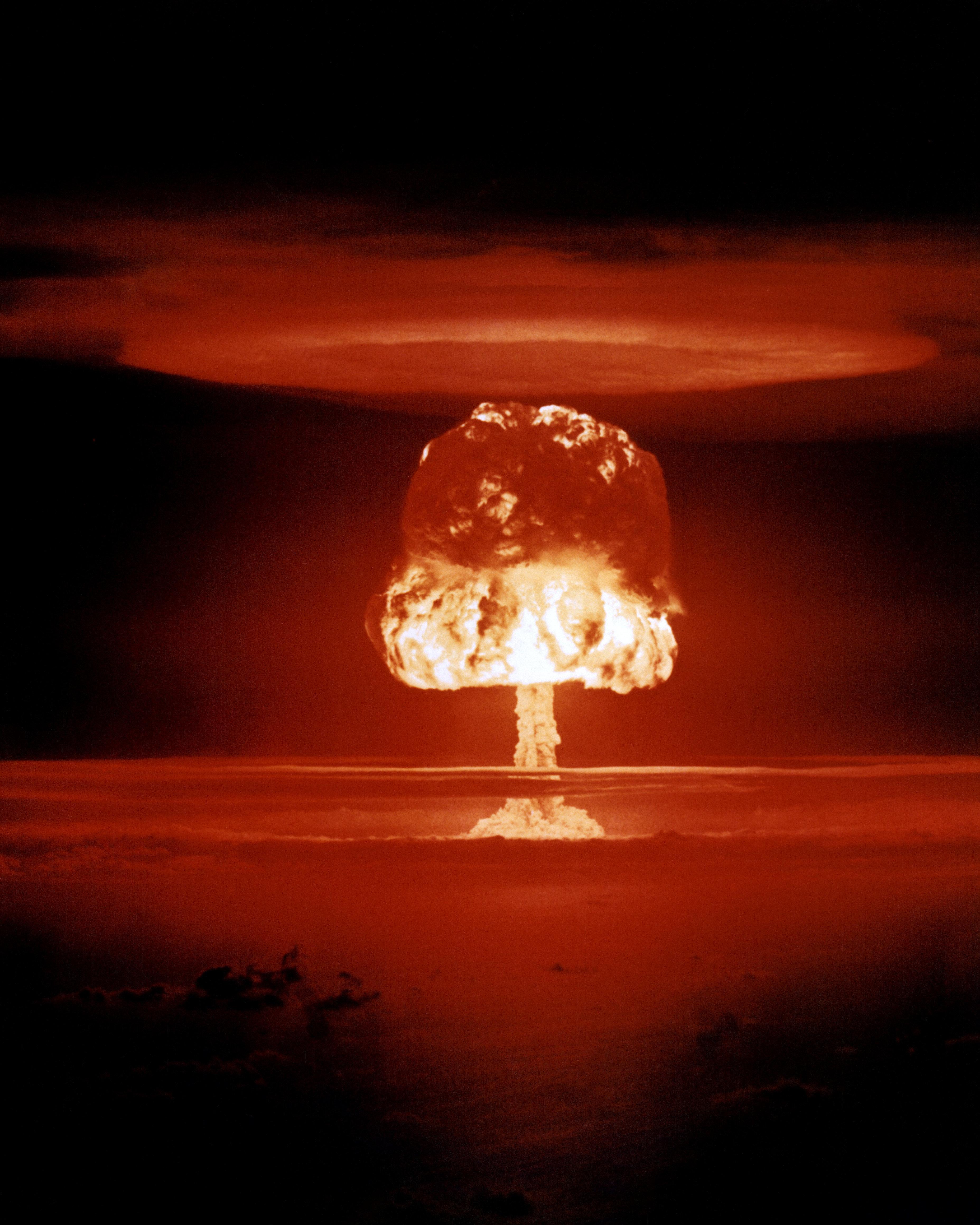 Με την ενέργεια από την έκρηξη ατομικής βόμβας ισοδυναμεί η υπερθέρμανση των