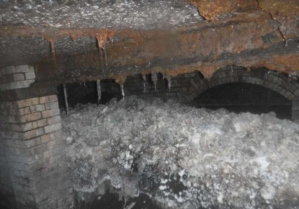 Massive 'fatberg' found in British sewer