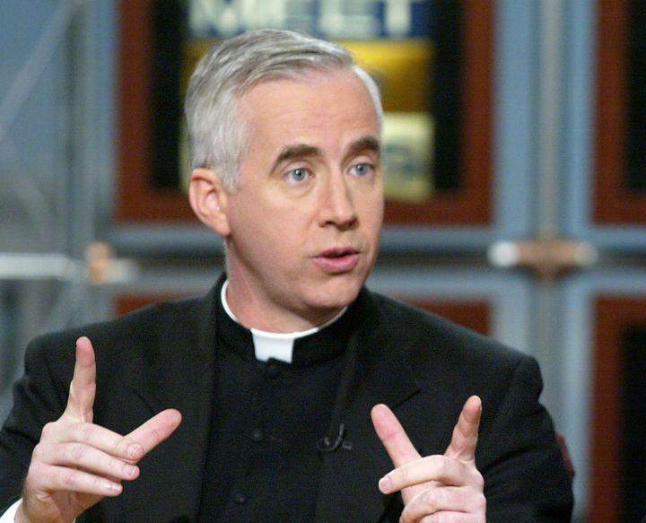 Opus Dei Rev. C John McCloskey pictured in 2002.