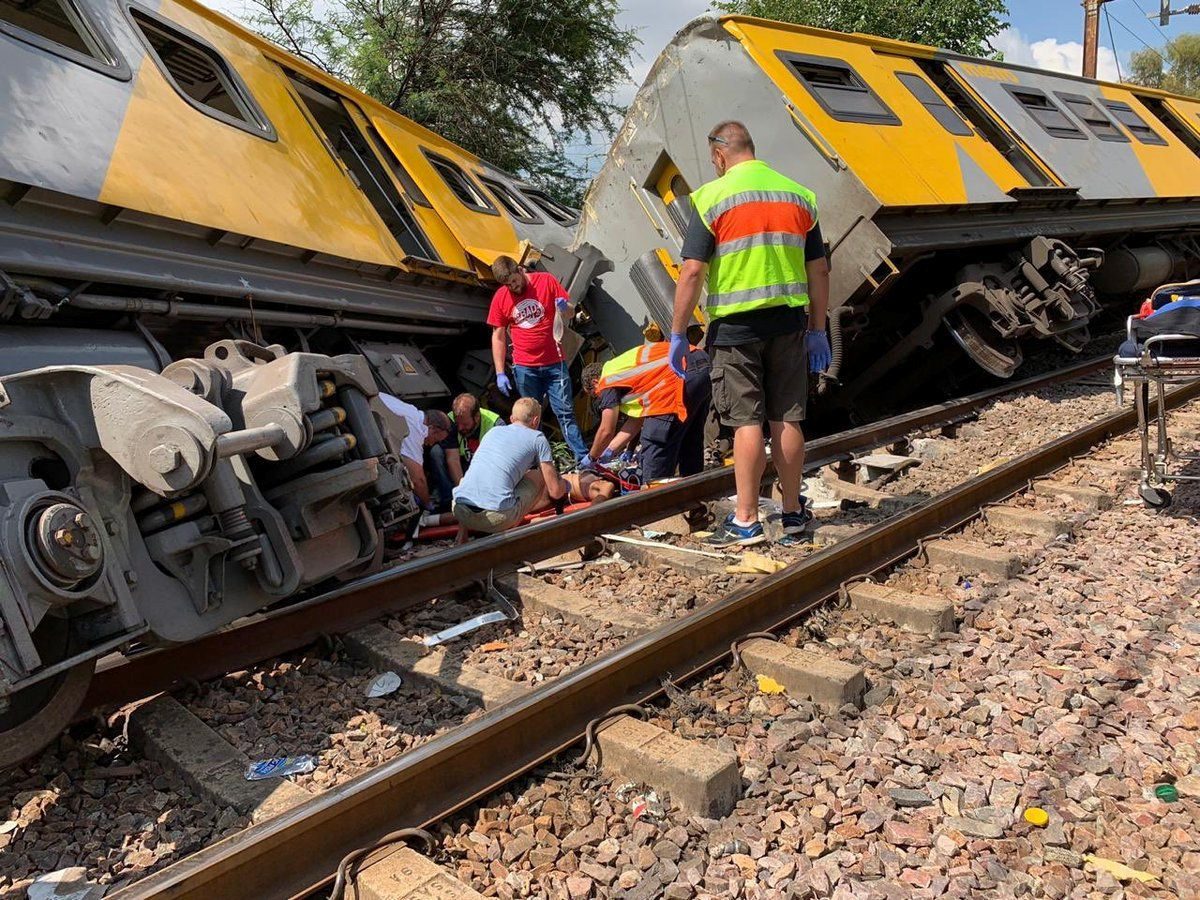 Two Dead And Dozens Injured In Head-On Train Collision In South