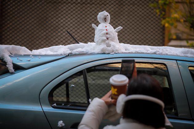 Και χιονάνθρωπο