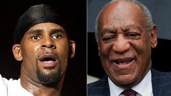 R Kelly and Bill Cosby