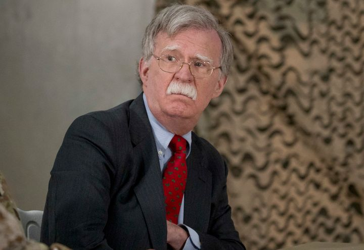 National Security Adviser John Bolton has said there is no fixed timetable for completing the drawdown of U.S. troops from Sy