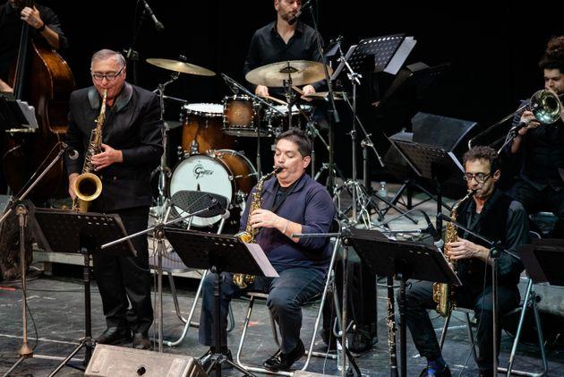 Η Big Band του δήμου Αθηναίων υποδέχεται τη Μαρίζα Ρίζου στη σκηνή του