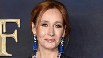 "Photo by: KGC-03/STAR MAX/IPx 2018 11/13/18 J.K. Rowling at the premiere of ""Fantastic Beasts: The Crimes of Grindelwald"" in London, England. - UK Film Premiere held at Cineworld Leicester Square, 5-6 Leicester Street, London, England."