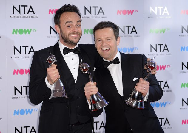 Ant and Dec have won the Best Presenter NTA for the last 17