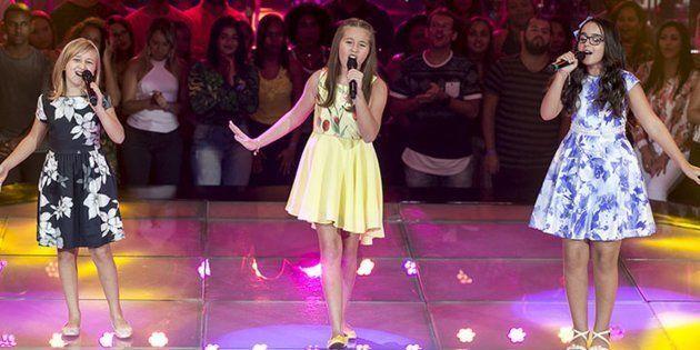 Isa Pagnota, Luiza Gattai e Tayná Delfino emocionaram com música no The Voice