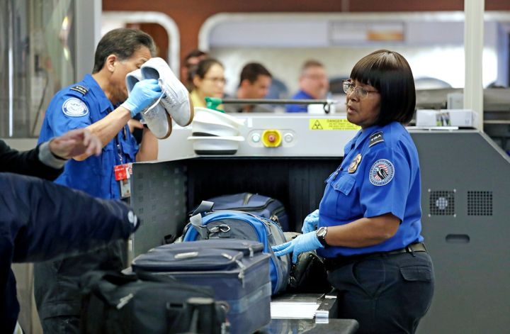 Transportation Security Administration are considered essential and are still expected to come to work -- but they're not bei