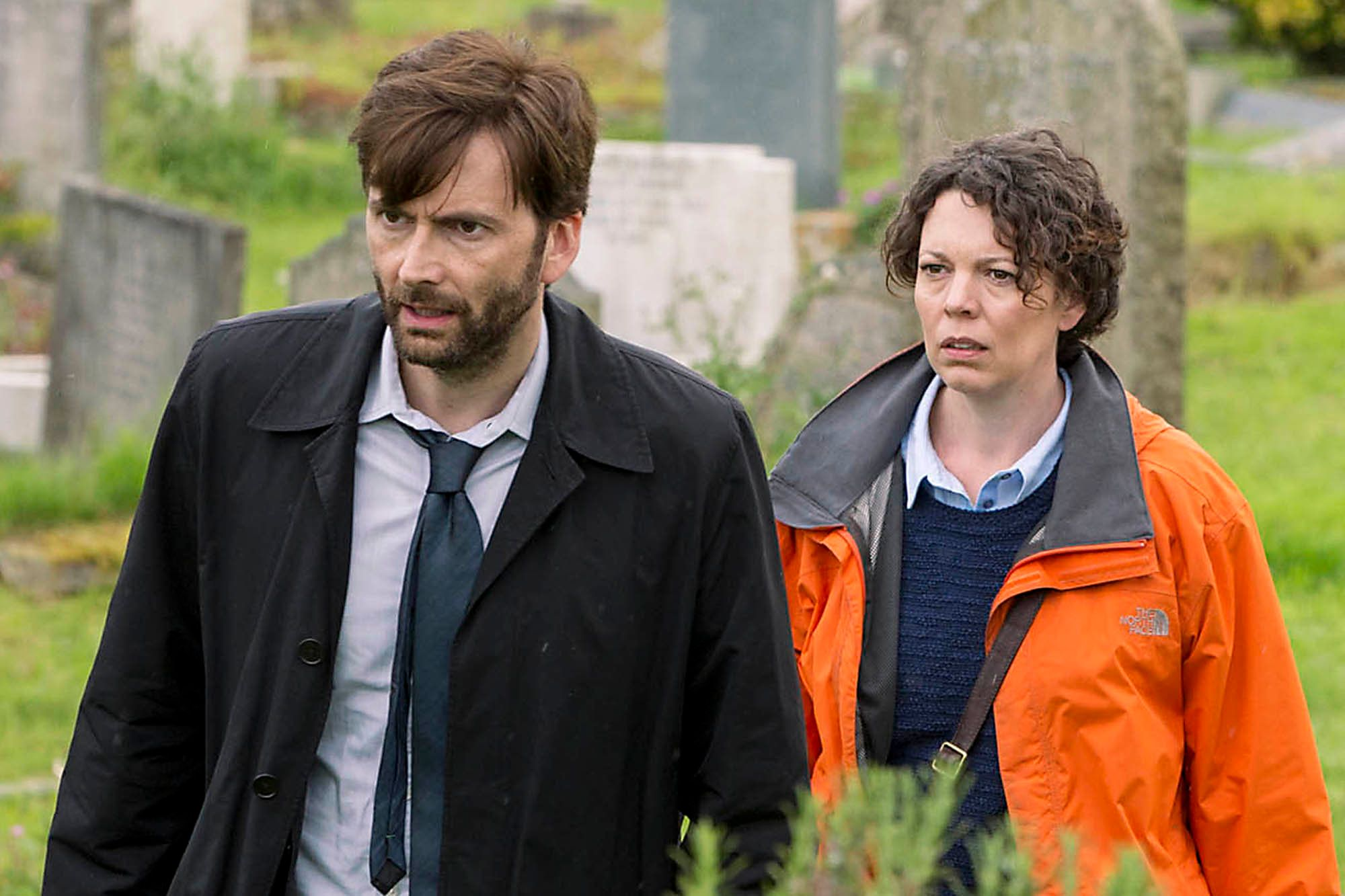 """Broadchurch"" on Netflix."