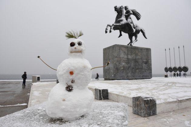 Έρχεται και η «Υπατία» με χιόνια, παγετό και ισχυρές