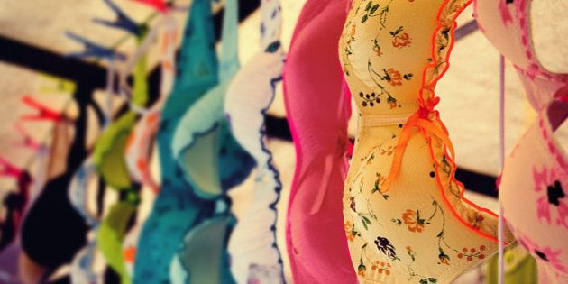 Just when I thought it wasn't possible to capture an image of summer bras looking autumnal... photography is full of surprises.