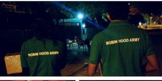 How India's 'Robin Hood Army' Is Feeding The Homeless From Restaurant
