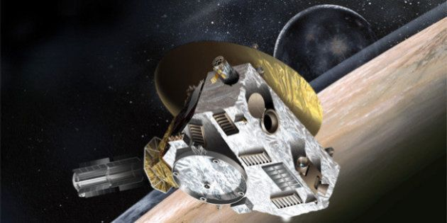 New Horizons Probes Pluto After Nine-year