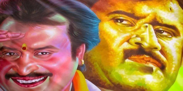 Rajinikanth's Tamil Thriller 'Lingaa' Out On 64th Birthday, Fans Lose It On The