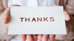 How Saying 'Thanks' Can Improve Your