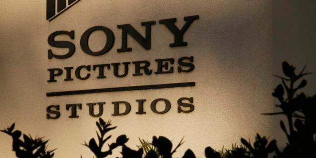 Signage is displayed at the Sony Pictures Entertainment Inc. studios in Culver City, California, U.S.,...