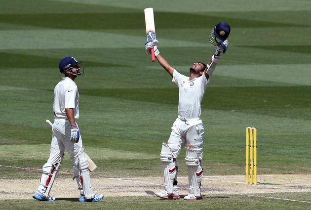 Kohli And Rahane Score Centuries In India-Australia Test