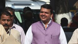 Maha CM Travels In Mumbai Local Train; Interacts With