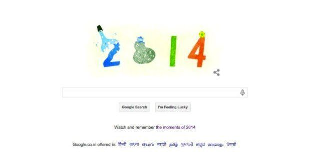 Google's Hat Tip To India's Mars Mission In Last Doodle Of