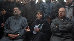 Mehbooba Mufti Meets J-K Governor Vohra To Discuss Government