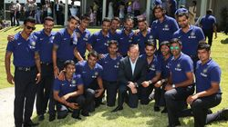 Dhoni Missing From Team India Pictures With Australian