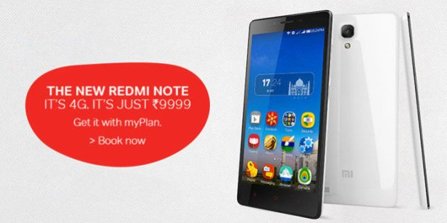Airtel Offers Xiaomi Redmi Note 4G To Postpaid
