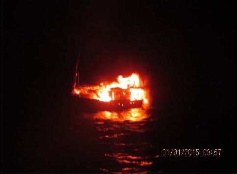 Suspected Pakistani Vessel Blows Itself Up Off Gujarat