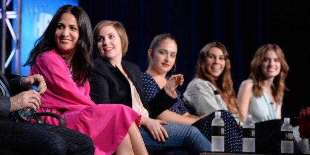 PASADENA, CA - JANUARY 09: (L-R) Writer/executive producer Jennifer Konner, writer/executive producer/actress...