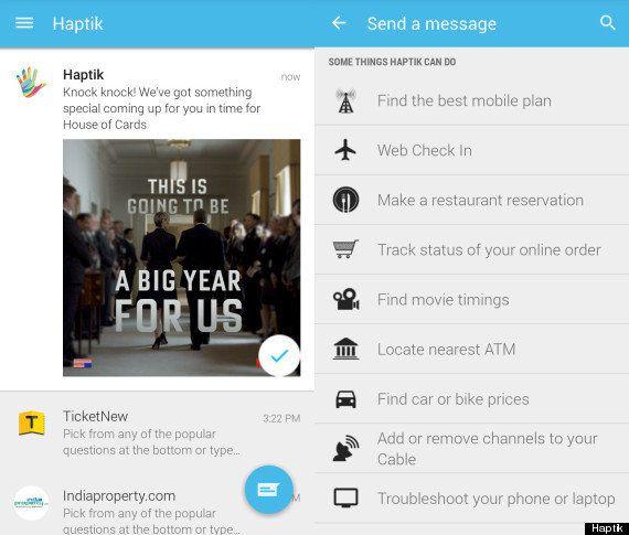 Product Assistant App Haptik Gets A Major