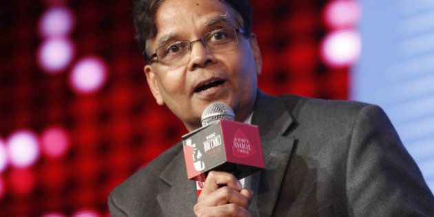 NEW DELHI, INDIA MARCH 07: Arvind Panagariya during the India Today Conclave 2014 in New Delhi.(Photo...