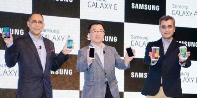 Samsung Launches Galaxy E5, E7, A3 and A5 Smartphones In