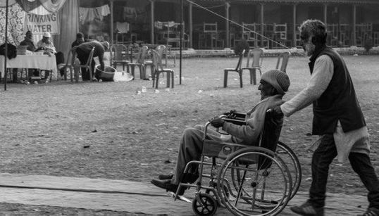 How The Differently-abled And The Elderly Cast Their Votes In J&K
