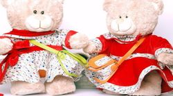 These Indian Valentine's Day Teddy Bears Are Totes