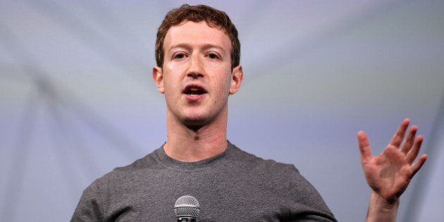 SAN FRANCISCO, CA - APRIL 30: Facebook CEO Mark Zuckerberg delivers the opening keynote at the Facebook...