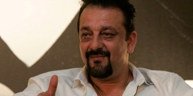 FILE - In this June 5, 2010 file photo, Indian Bollywood actor Sanjay Dutt speaks during a press conference...